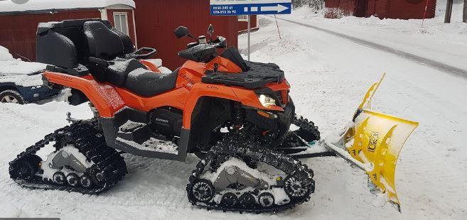 Ny fyrhjuling